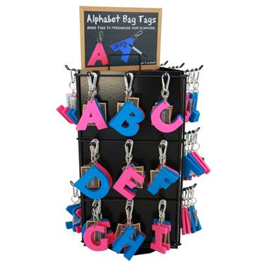 3 Sided Keyring Counter