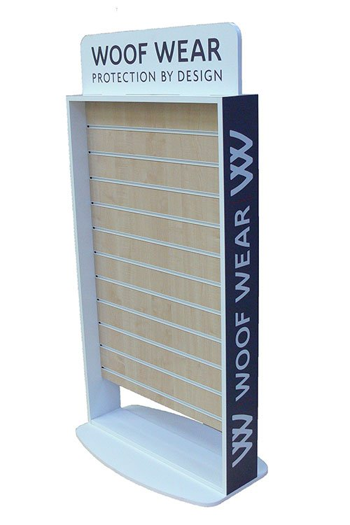 Slatwall Floor Display Stand