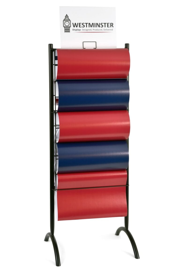 Gift Wrap Display Stand