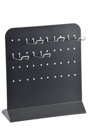 Perforated Counter Display Stand