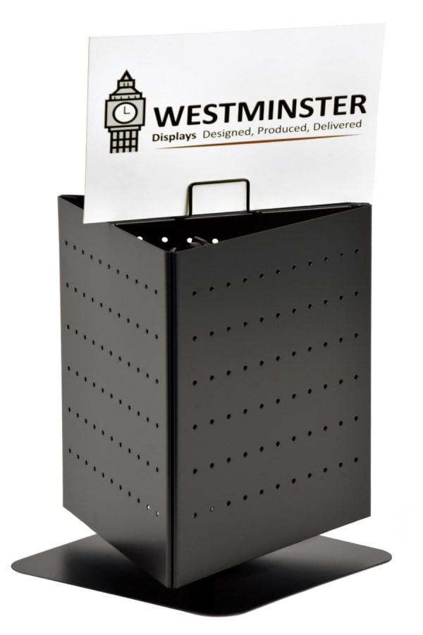 Coaster Display Stand, Floor Spinner (100mmx100mm - 48 Pockets)
