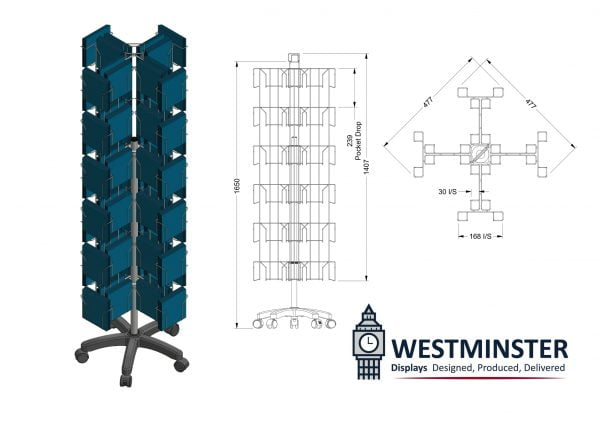 wire display stands