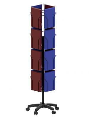 16 Pocket 4 Sided Display Stand