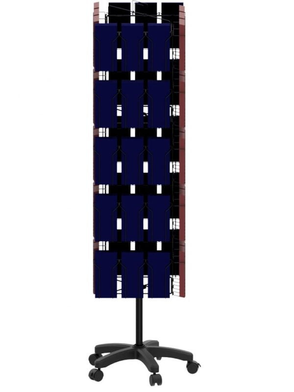 60 Pocket 4 Sided Display Stand Portrait