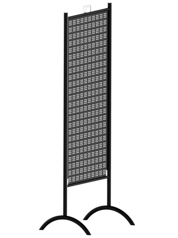 Perforated Double Sided Retail Display Stand