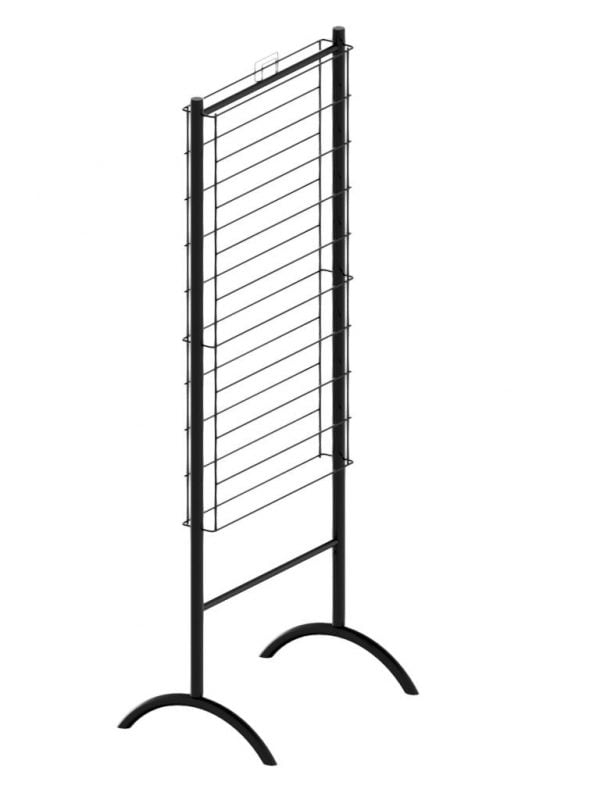2 Sided, Knockdown, Gift Wrap Display Stand