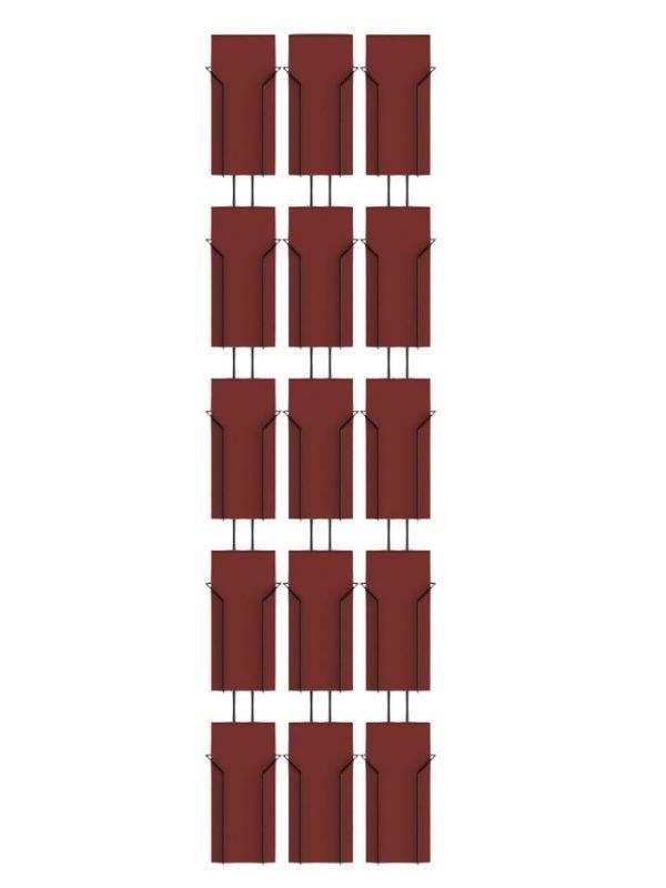15 Pocket Wall Rack 3rd A4