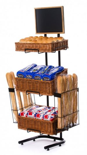 Baguette display stand