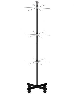Wire hook display stand